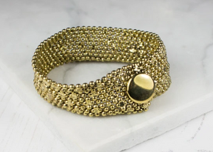 Gold Narrow Cuff