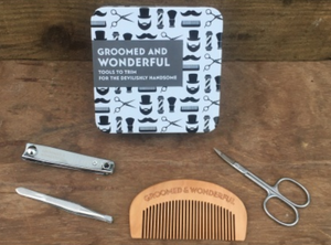 Gift in a tin - Groomed and wonderful