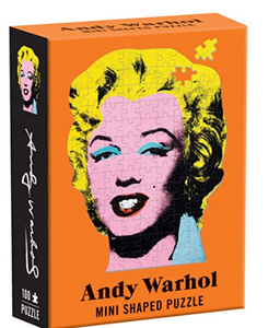 Andy Warhol Mini Shaped Puzzle Marilyn