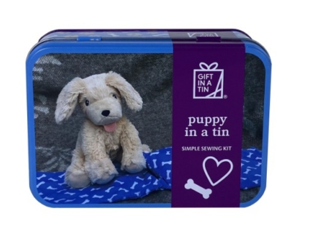 Gift in a tin - Puppy