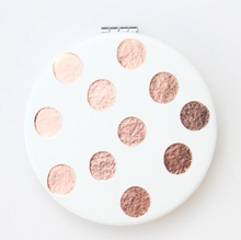 Rose Gold Spot Mirror