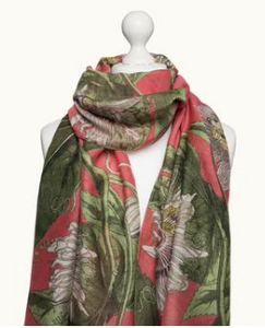 Scarf - Passion Flower