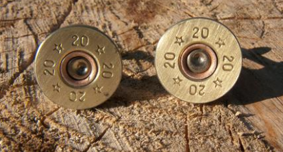 Shotgun Cartridge Cuff links