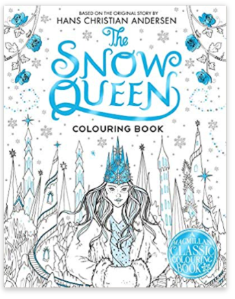 The Snow Queen - A colouring book