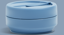Stojo - Steel Blue 12oz Collapsible cup