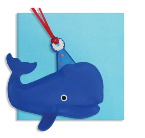 Inflatable Whale Decoration Card