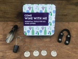 Gift in a tin - Come wine with me