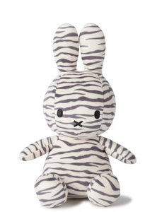 Miffy Sitting Zebra