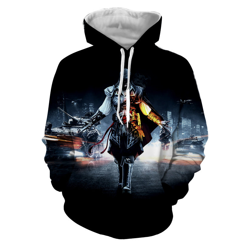 Assassin's Creed 3D Hoodie - Ezio Hoodie - Assassin's Creed Jacket