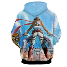 Attack On Titan Hoodie - Mikasa Ackerman 3D Hoodie - Attack On Titan Jacket