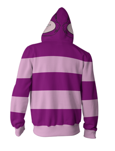 Cheshire Cat Hoodie - Cheshire Cat ZipUp 3D Hoodie - Cheshire Cat Jacket