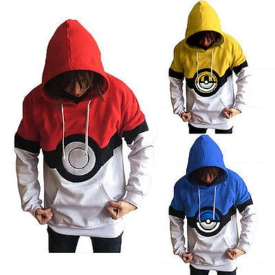 POKEMON POKEBALL 3D HOODIE - POKEMON JACKET - Hoodies Universe