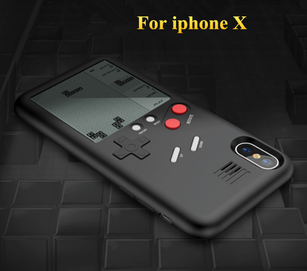 coque iphone x game boy
