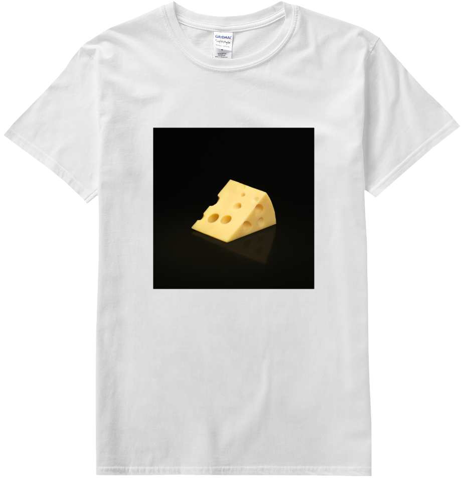 Cheese Emoji T-shirt