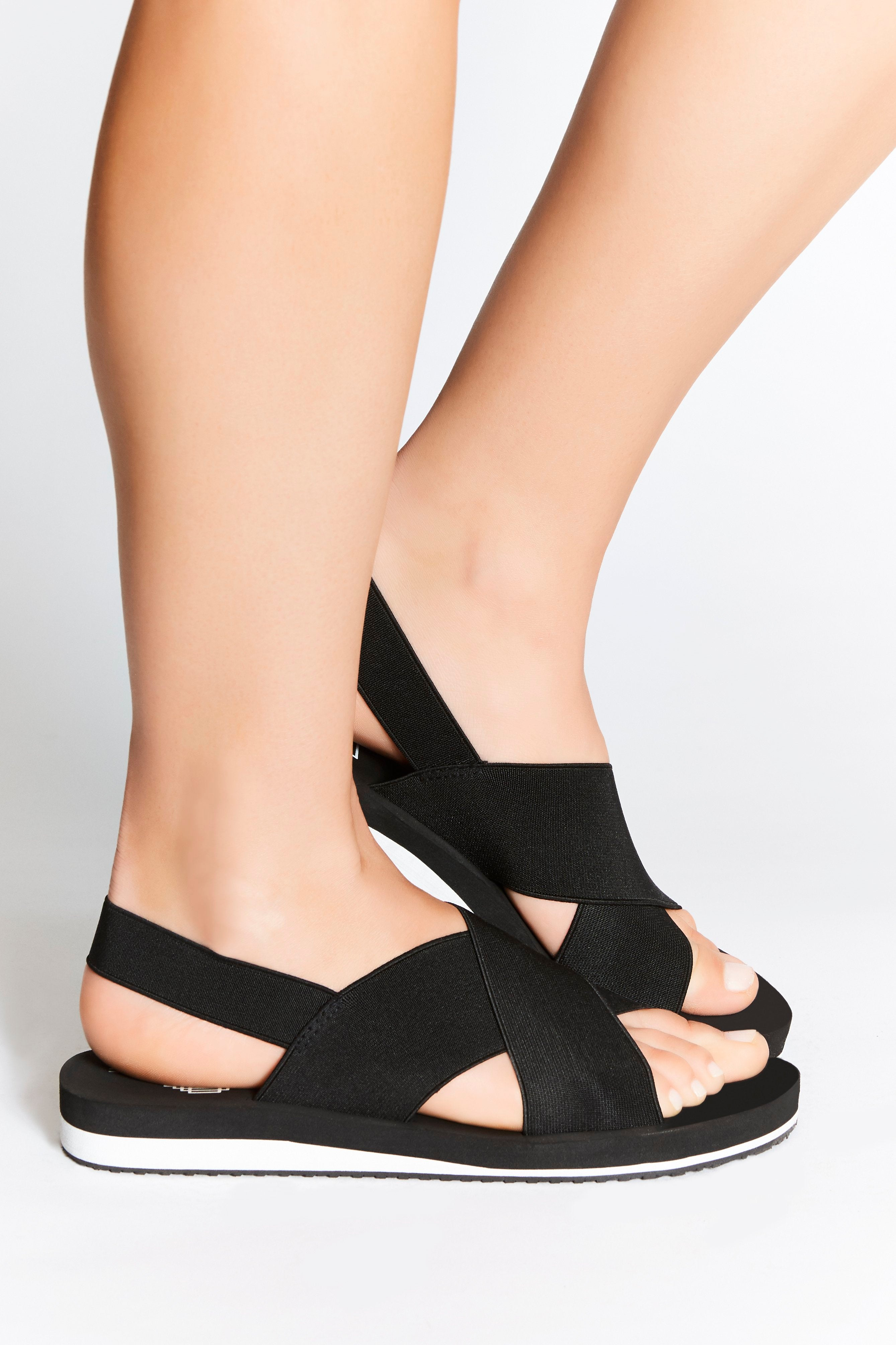 Comfortable, non-leather sandals for