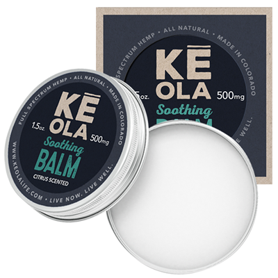 Keola Soothing Balm - Citrus Scented