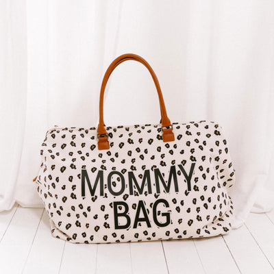 Mommy bag large léopard - Loupilou