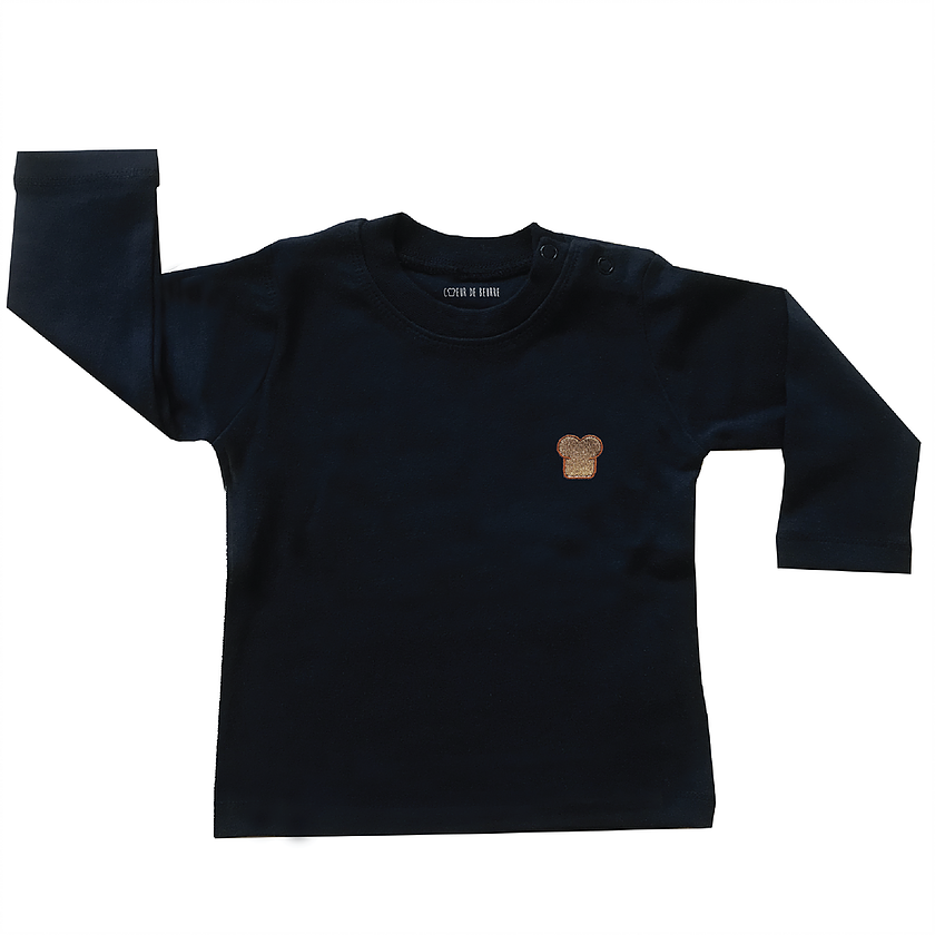 T-shirt kids brioche