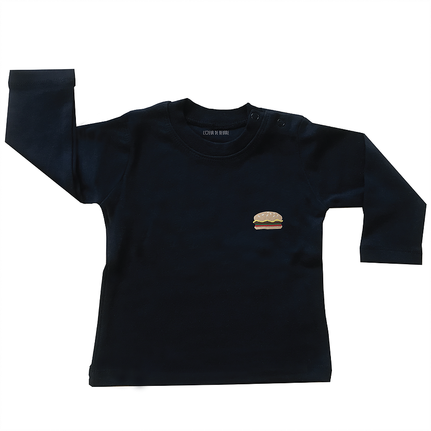 T-shirt kids hamburger