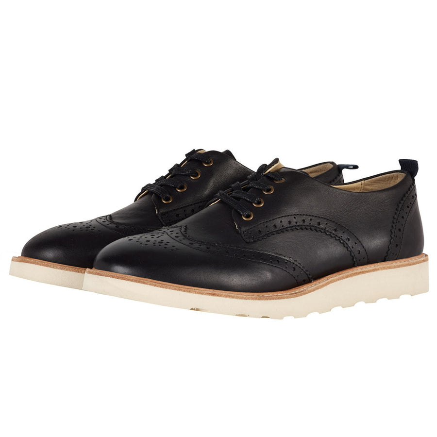 Derbies Brando en cuir noir (adultes)