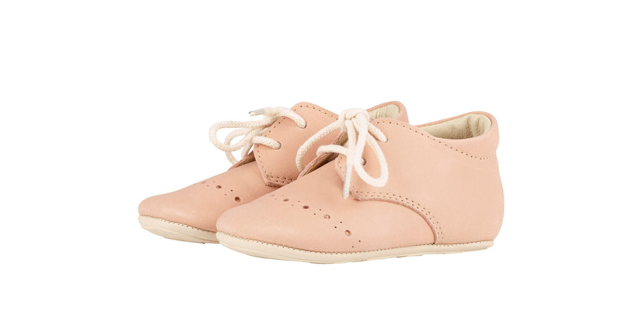 Chaussures Buddy rose pâle