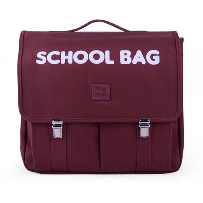 Cartable UNI Burgandy (5-7 ans) - Loupilou