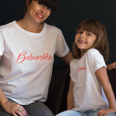 T-shirt duo Baboushka