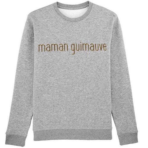 SWEAT MAMAN GUIMAUVE ADULTE