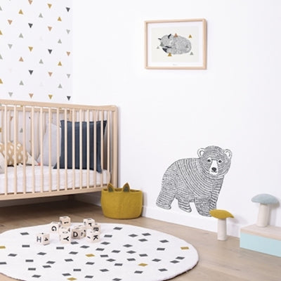 Sticker XL petit ours Lilipinso Loupilou