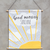 "Affiche suspendue ""Good morning sunshine"""