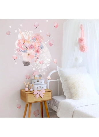 Schmooks Unicorns & Butterflies Wall Sticker