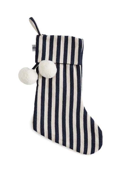SACK ME! CHRISTMAS STOCKING CLASSIC FRENCH NAVY