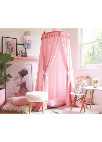 Freddie & Ava Canopy Baby Pink