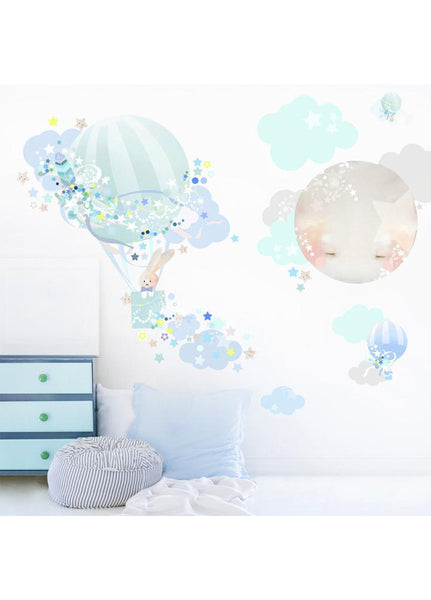 SCHMOOKS WALL STICKER MAGICAL BALLOON BOY