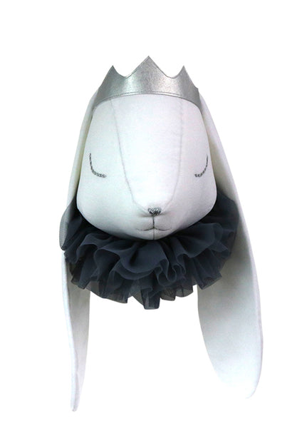 LOVE ME DECORATION RABBIT HEAD NAVY (PRE ORDER)
