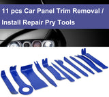 11 Pcs Car Door Panel Dash Audio Stereo Molding Removal Install Pry Tools - #TOKIT-99811