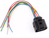 Genuine 09G Transmission 8-Pin Wiring Harness Connector For Audi VW 1J0973714 - #24908-47101
