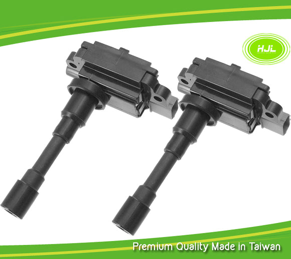 2 PCS Set Ignition Coils For Subaru Justy 1.5L AWD MKIII G3X 3340065G02 2003-07 - #95044-73102