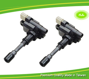 2 PCS Set Ignition Coils For Suzuki Esteem 1.6L Baleno Jimny Swift 3340065G00 - #91104-73102