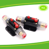30A Circuit Breaker Reset Fuse Holder for 12V-24V DC boat marine 2PCS - #FUSEO-70163