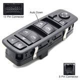 Power Door Window Switch Driver Side For Dodge Nitro Journey Jeep Liberty 08-12 - #44077-31000