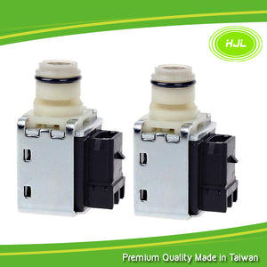 4L60E 2 PCS Transmission Shift Solenoid Valve Set For GM Chevy Buick 24230298