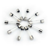 50pcs 10 Values 6x30mm 250V Glass Fuses Fast-Blow 0.5A 1A 2A 3A 5A 6A 8A 10A 15A 30A - #FUSEO-81810
