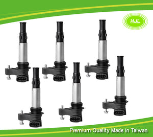 6PCS Set Ignition Coil For Alfa Romeo 159 JTS Spider 939 3.2L Turbo 71751445 - #16088-73106