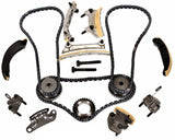 Timing Chain Kit Fits for SAAB 9-3 9-4X 9-5 2.8L Turbocharged B284 B284R 2006-11 w/Gears - #HJ-92005-G