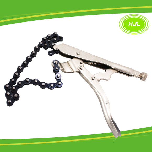 10inch/254mm Locking Chain Clamp vise grip great tool holding pipe wrench - #TOKIT-98310