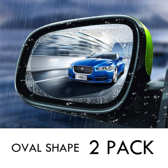 2PCS Car Anti Fog Coating Rainproof Rear View Mirror Waterproof Protective Film - #ASSRY-81020
