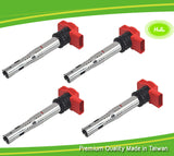 06E905115E Ignition Coil Pack of 4 - Replaces Volkswagen and Audi Vehicles
