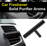 Air Freshener Car Perfume Vehicle Solid Air Purifier Aroma with 3 Scented-Black - ASSRY-70110