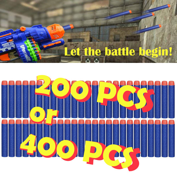 Refill Darts 200 / 400 PCS Bullet for Nerf N-Strike Elite Zombie Strike Series - #FUNKT-02000